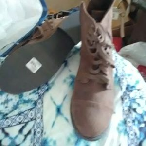 Lane Bryant suede-like boots